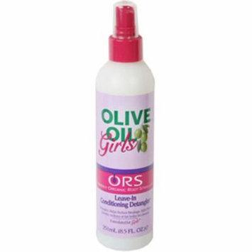 2 Pack - Organic Root Stimulator Girls Olive Oil Leave-In Conditioning Detangler, 8.5 oz