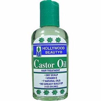 6 Pack - Hollywood Beauty Castor Oil, 2 oz