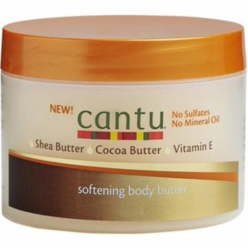 4 Pack - Cantu Softening Body Butter Lotion, 7.25 oz