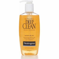 3 Pack - Neutrogena Deep Clean Facial Cleanser, Normal to Oily Skin 6.70 oz