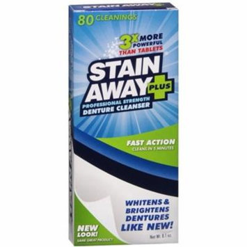 2 Pack - Stain Away Plus Denture Cleanser 8.10 oz