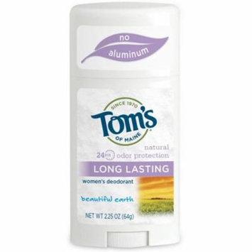 Tom's of Maine Natural Long Lasting Women's Deodorant, Beautiful Earth 2.25 oz