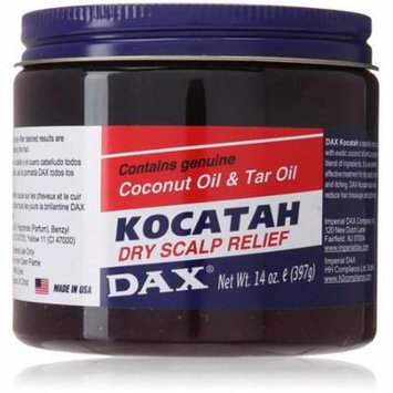 4 Pack - Dax Kocatah Dry Scalp Relief 14 oz