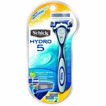3 Pack - Schick Hydro 5 Razor 1 Each