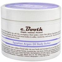 c. Booth Egyptian Argan Oil Body Butter 8 oz