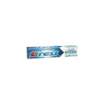 Crest Extra Whitening Toothpaste With Tartar Protection, Clean Mint - 6.2 Oz, 2 Pack