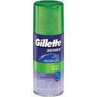 6 Pack - Gillette Series Sensitive Skin Shave Gel 2.50 oz