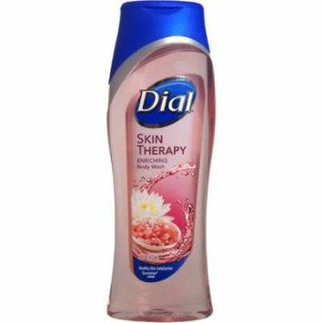 4 Pack - Dial Skin Therapy Enriching Body Wash With Himalayan Pink Salt, 16 oz