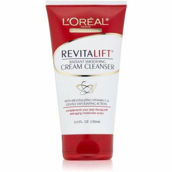 4 Pack - L'Oreal Dermo-Expertise RevitaLift Radiant Smoothing Cream Cleanser 5 oz