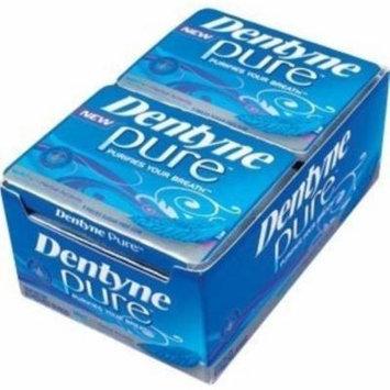 4 Pack - Dentyne Pure Gum Sugar Free Mint Herb 10 packs (9ct per pack)
