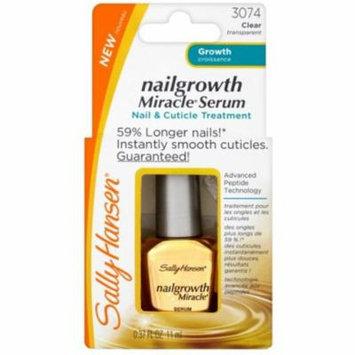 4 Pack - Sally Hansen Nailgrowth Miracle Serum, Clear [3074], 0.37 oz