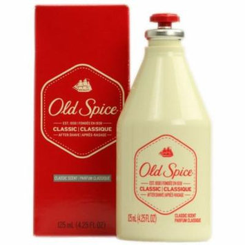 6 Pack - Old Spice Classic After Shave 4.25 oz