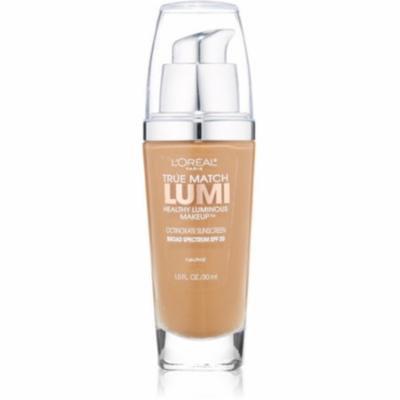 4 Pack - L'Oreal True Match Lumi Healthy Luminous Makeup, Classic Tan/Cappuccino [N7-8], 1 oz