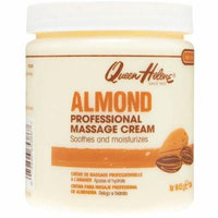 4 Pack - QUEEN HELENE Almond Scented Massage Cream 15 oz