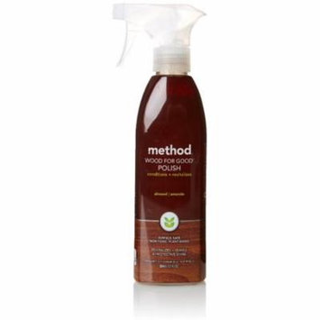 3 Pack - Method Wood For Good Surface Cleaner, Almond 12 oz