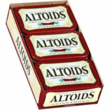 2 Pack - Altoids Tin Cinnamon 12 packs (1.7 oz per pack)