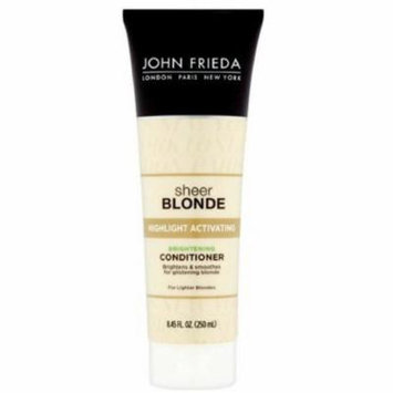 2 Pack - John Frieda sheer blonde Highlight Activating Conditioner For Lighter Blondes 8.45 oz