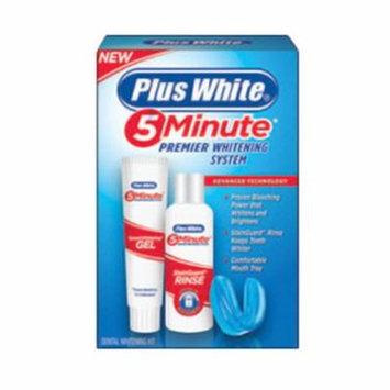 Plus White 5 Minute Premiere Dental Whitening Gel And Rinse Kit - 1 Ea, 2 Pack