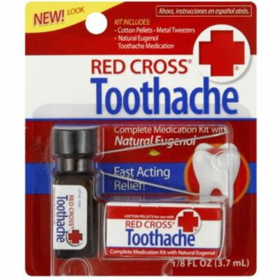 4 Pack - Red Cross Toothache Complete Medication Kit 0.12 oz