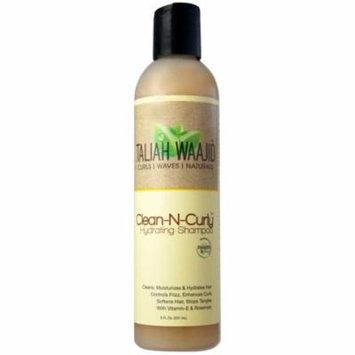 4 Pack - Taliah Waajid Clean-N-Curly Hydrating Shampoo, 8 oz