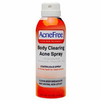 Acnefree Clear Skin Treatments Body Clearing Acne Spray - 5 Oz, 3 Pack