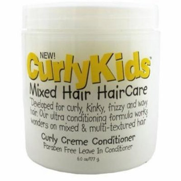 4 Pack - Curly Kids Curly Creme Conditioner, 6 oz