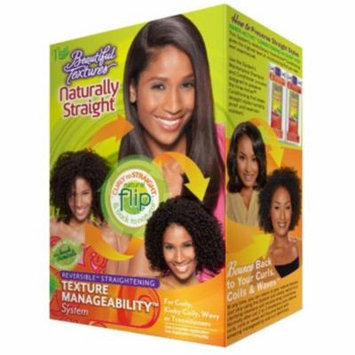6 Pack - Beautiful Textures Naturally Straight Texture Manageability System, 1 ea