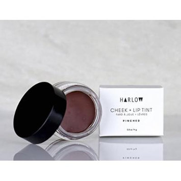Harlow Skin Co. Pinched Cheek Lip Tint Balm With Australian Red Reef Clay, Raw Cocoa Butter and Organic Beeswax, Natural Makeup Lip Kit, 0.5 fl. oz.