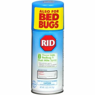 2 Pack - RID Home Lice Control Spray 5 oz