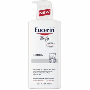 2 Pack - Eucerin Baby Soothing Body Lotion 13.50 oz