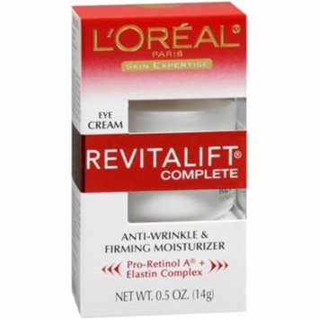 6 Pack - L'Oreal Skin Expertise RevitaLift Complete Eye Anti-Wrinkle & Firming Cream 0.50 oz