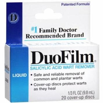 2 Pack - DuoFilm Wart Remover Liquid 0.33 oz
