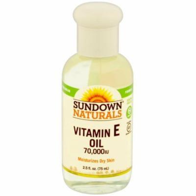 3 Pack - Sundown Naturals Vitamin E Oil 2.50 oz