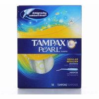2 Pack - Tampax Plastic Unscented Tampons, Regular Absorbency 18 ea