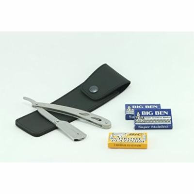 Single Edge Barber Shavette Stainless Razor - Takes All Kinds of Double Edge ...