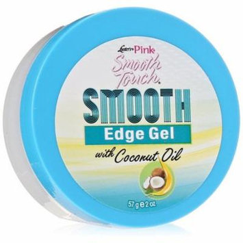 6 Pack - Luster's Pink Smooth Touch Smooth Edge Gel with Coconut Oil 2 oz