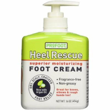 4 Pack - ProFoot Heel Rescue Superior Moisturizing Foot Cream 16 oz