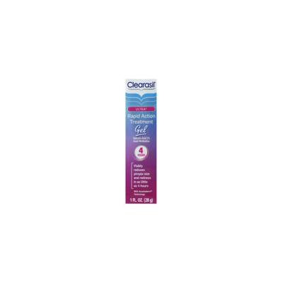 2 Pack - Clearasil Rapid Rescue Acne Spot Treatment Gel, Invisible, 1 oz