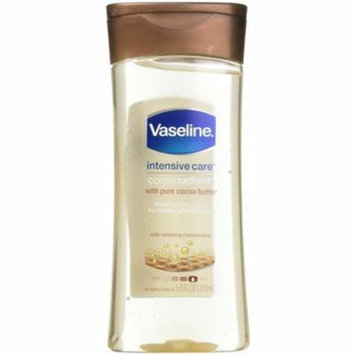 Vaseline Intensive Care Cocoa Radiant Body Gel Oil, 6.8 oz-6 Pack