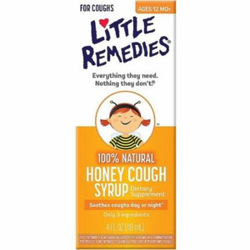 3 Pack - Little Remedies Honey Cough Syrup 4 oz
