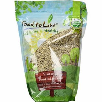 Food To Live ? Organic Sunflower Seeds (Non-GMO, Kosher, Raw, No Shell) (2 Pounds)