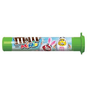 M&M'S Easter Milk Chocolate MINIS Size Candy in Tubes 1.77-Ounce Tube (1 Tube)