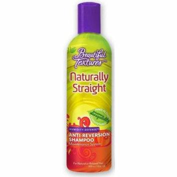 4 Pack - Beautiful Textures Naturally Straight Anti-Reversion Shampoo, 12 oz