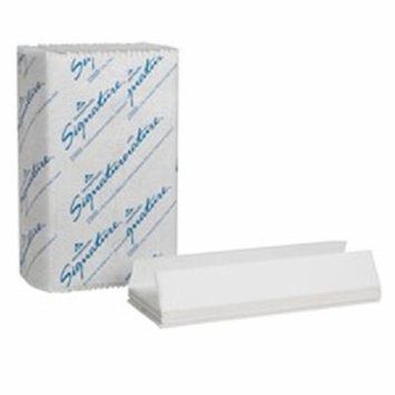 Signature Paper Towel C-Fold 13.2 L x 10.1 W Inch Case of 12 8 Pack
