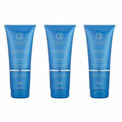 Vita Liberata Luxury Tan, Super Fine Skin Polish, For Tan Preperation, 8.45 Oz (Pack of 3) + Curad Dazzle Bandages 25 Ct