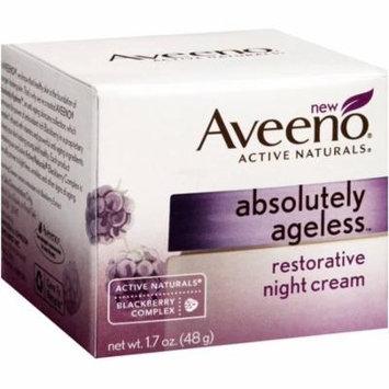 6 Pack - AVEENO Active Naturals Absolutely Ageless Restorative Night Cream, Blackberry 1.7 oz