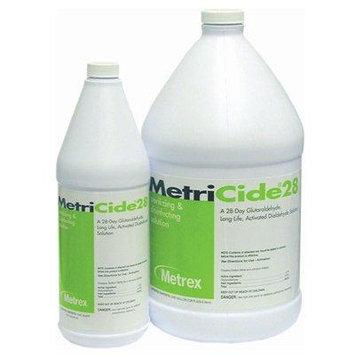 High-Level Disinfectant MetriCide 28 Liquid 1 Quart 4 Pack