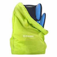 Car Seat Travel Bag, Evecase Baby Child Car Seat Carrying Travel Case Bag with Backpack Shoulder Strap - Green