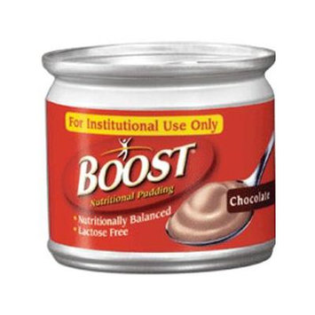 Boost Nutritional Chocolate Flavor Ready to Use Pudding 5 oz. Can, 240 Cal 8 Packs for 4