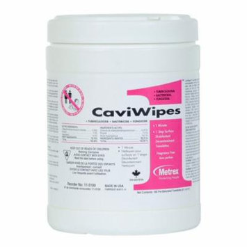 CaviWipes1 Disinfecting Wipes Canister of 160, 8 Pack